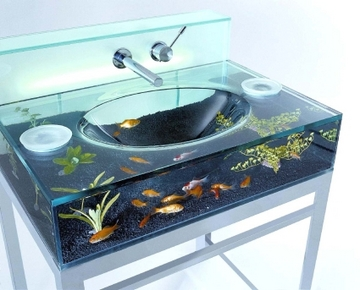 Moody Aquarium Washbasin