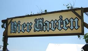 Oktoberfest Bier Garten