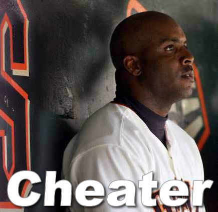 Bonds is a cheater