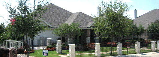 A DR Horton model home