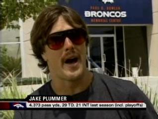 Jake Plummer looking smooth
