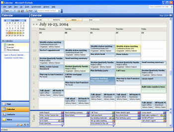 Office 12 calendar prototype